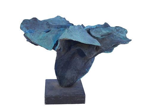 Val Bertoia Bronze Abstract Sculpture