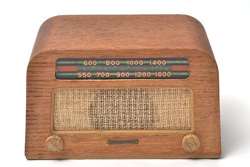 "Eames Evans ""Mission Bell"" Radio"