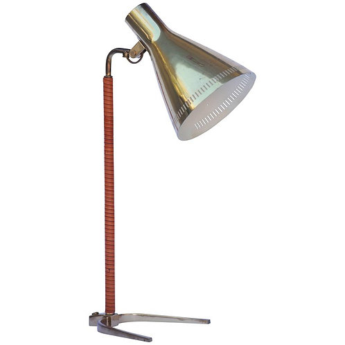 "Paavo Tynell O.Y. Taito AB Model 9224 ""Horseshoe"" Desk Lamp 1950's"