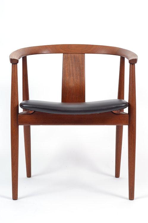Teak Chair by Gustav Bertelsen for Edvard and Tove Kindt-Larsen