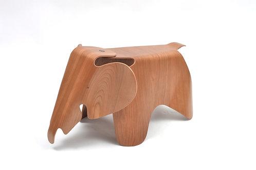 Eames Elephant in Molded Cherry Plywood Vitra