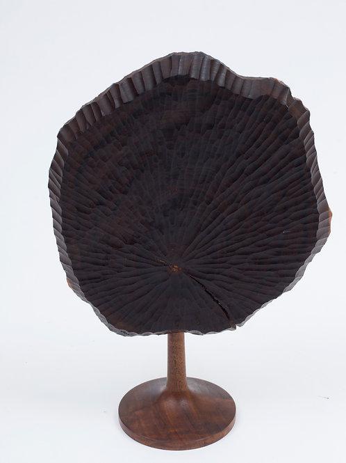 Jerry Glaser Carved Wood Scupture Austin Antique