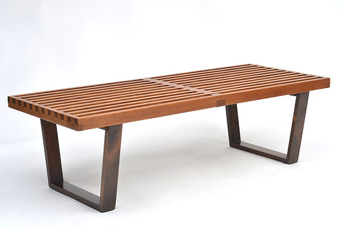 Vintage George Nelson Bench from the Estate of Architect Robert Little