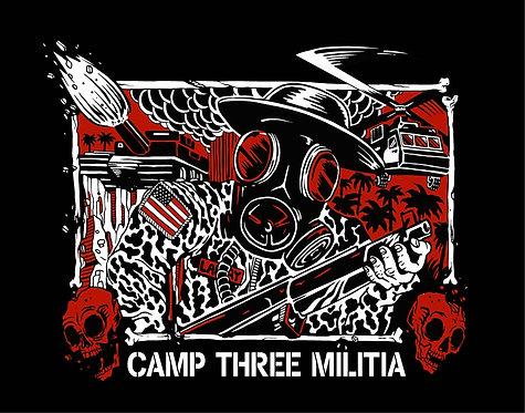 C3 MILITIA, Matt Gondek design