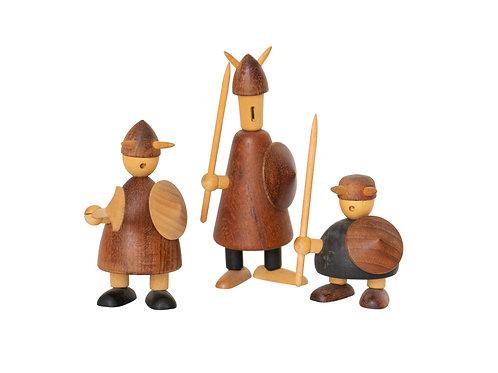 Jacob Jensen Scandinavian Miniature Danish Vikings, 1950s