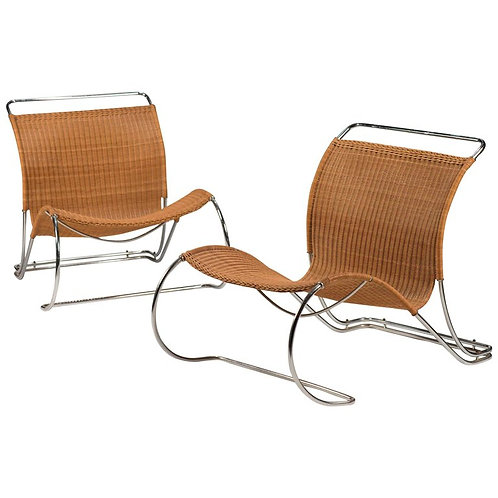BOEX BO 961 Lounge Chairs by Jorgen Lund and Ole Larsen