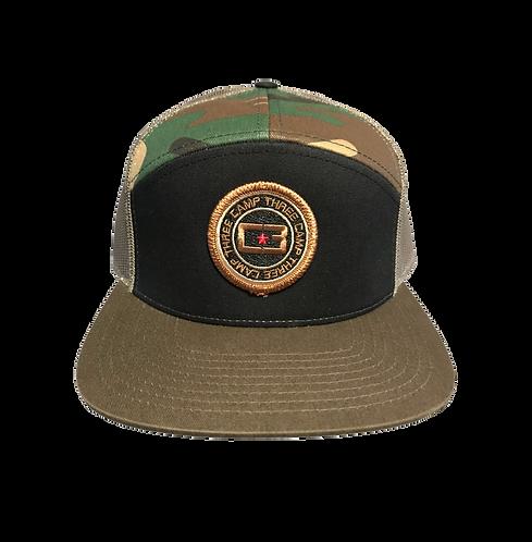 C3 Camo Circle Logo Hat