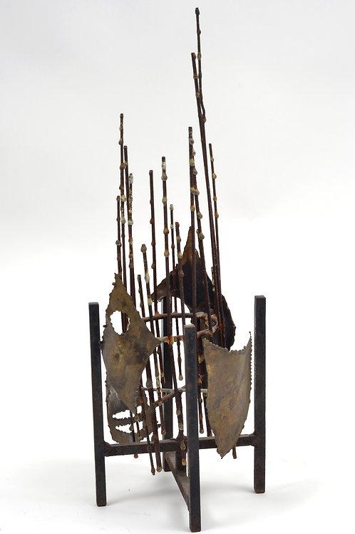C Jere Signed Brutalist Sculpture