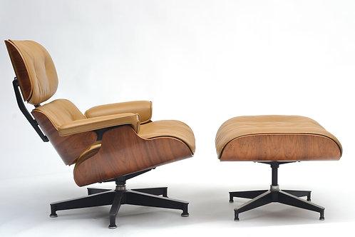 Herman Miller Eames Lounge Chair and Ottoman 670 & 671 CIrca 1960'6