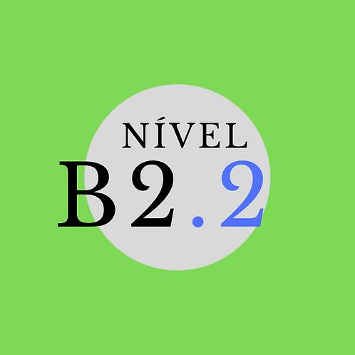 Curso Intensivo B2.2  - Seg. a Sex. 09:00 - 12:00 ( Início em março)