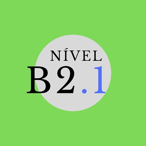 Curso Regular B2.1 -Segunda e Quarta, 19:30 -21:00 ( Início 02/08/21)