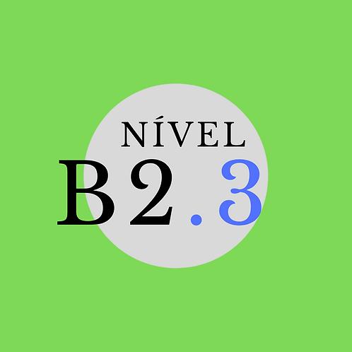 Curso Semi-intensivo B2.3 - Terça, Quinta (19h às 21h) e Sábado (9h às 11h