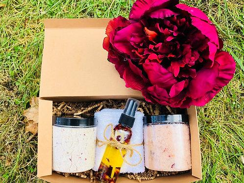 Vanilla Rose Spa Delight Gift Set