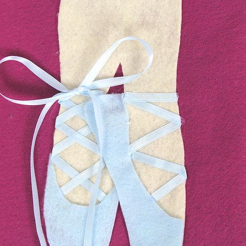 Ballet Slipper Tie Page