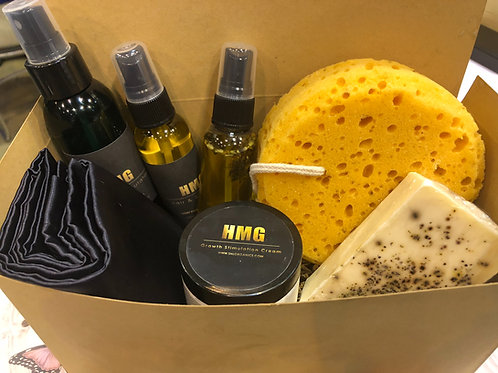 HMG Men's Hair & Beard Gift Set