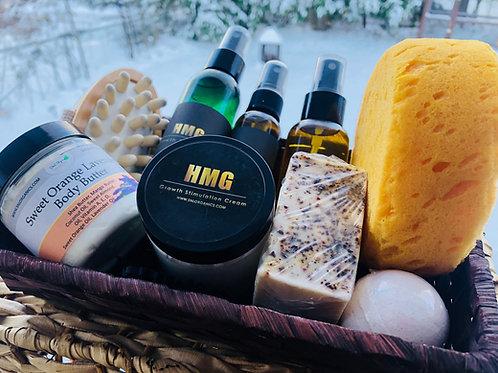 Men's Hair & Beard Frankincense & Myrrh Gift Set