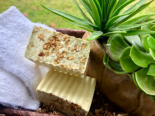 Lemon Chamomile Oatmeal Soap