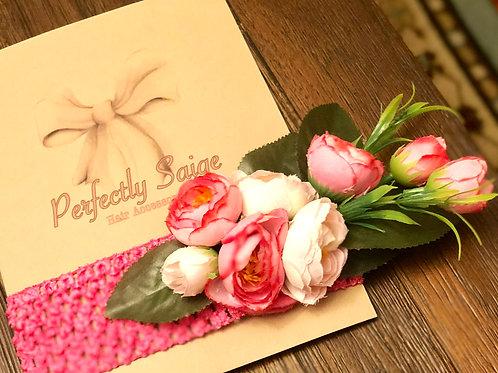 Light Pink/ Hot Pink Ranunculus Garden