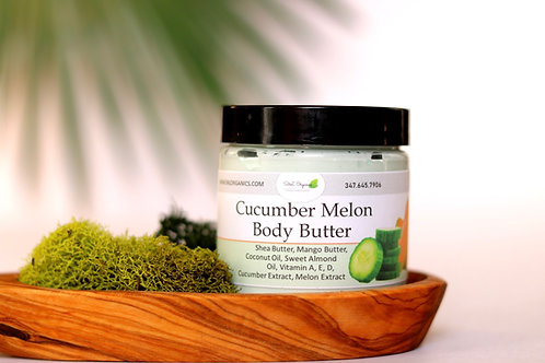 Whipped Body Butter Cucumber Melon (4oz)
