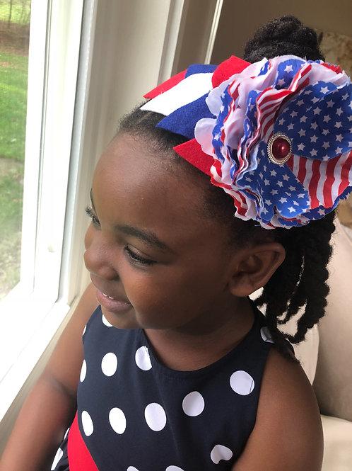 4th of July Julia Headband