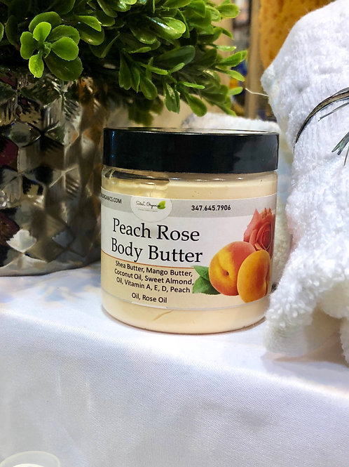 Whipped Body Butter (Peach Rose)