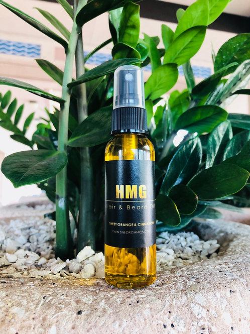 HMG Men's Hair & Beard Oil (2oz)