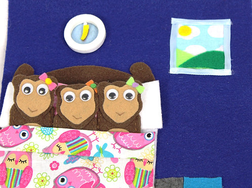 Monkeys On The Bed Activity Sheets