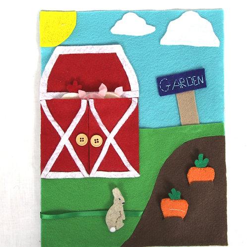 Finger Puppet Farm Activity Sheet