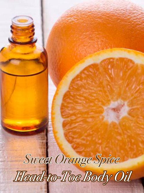 Sweet Orange Spice Hair & Skin Oil (2oz)