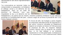 SE FIRMA ACUERDO PARA EL DIÁLOGO SOCIAL Y EL FORTALECIMIENTO DE LA PAZ LABORAL