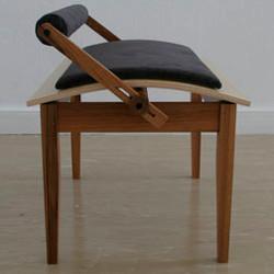 Piano bench by Bennett Fox Designs