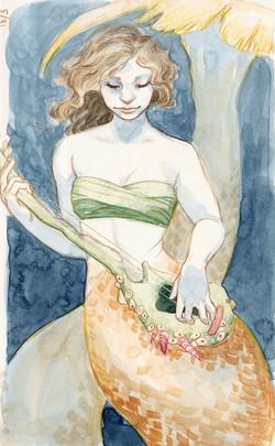 guitar mermaid