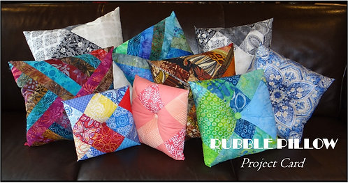Rubble Pillow Project Card