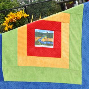 Sisters Outdoor Quilt Show Stadium Blanket