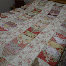 Make A Bunch Of Flying Geese Quilt Gate's Mary Rose