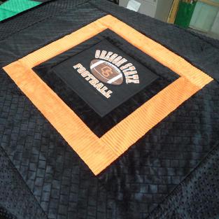 Oregon Beavers Football Stadium Blanket