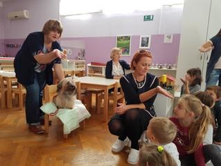 Ciciban Kindergarten in Velika Gorica and the Havanese Therapy Dogs Program in Croatia