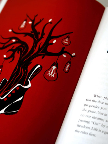 From Red To Black Chapter Illustration