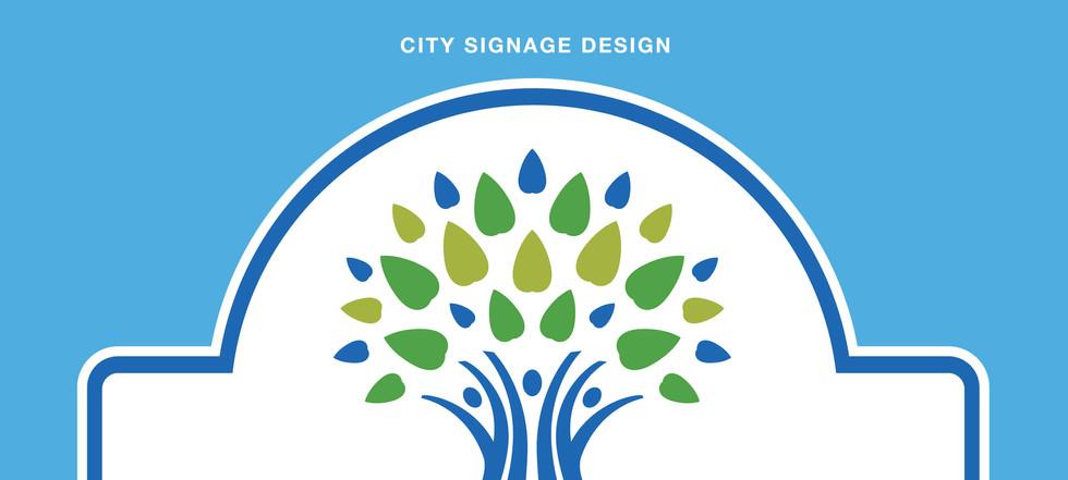 City Signage Design