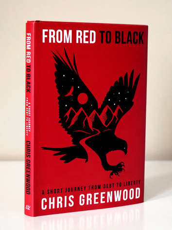 From Red To Black Hardcover Book Design