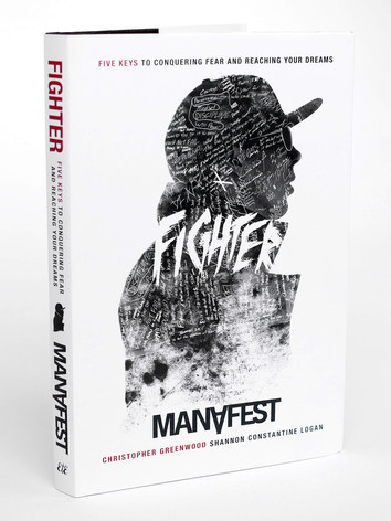 Fighter Hardcover Book Design