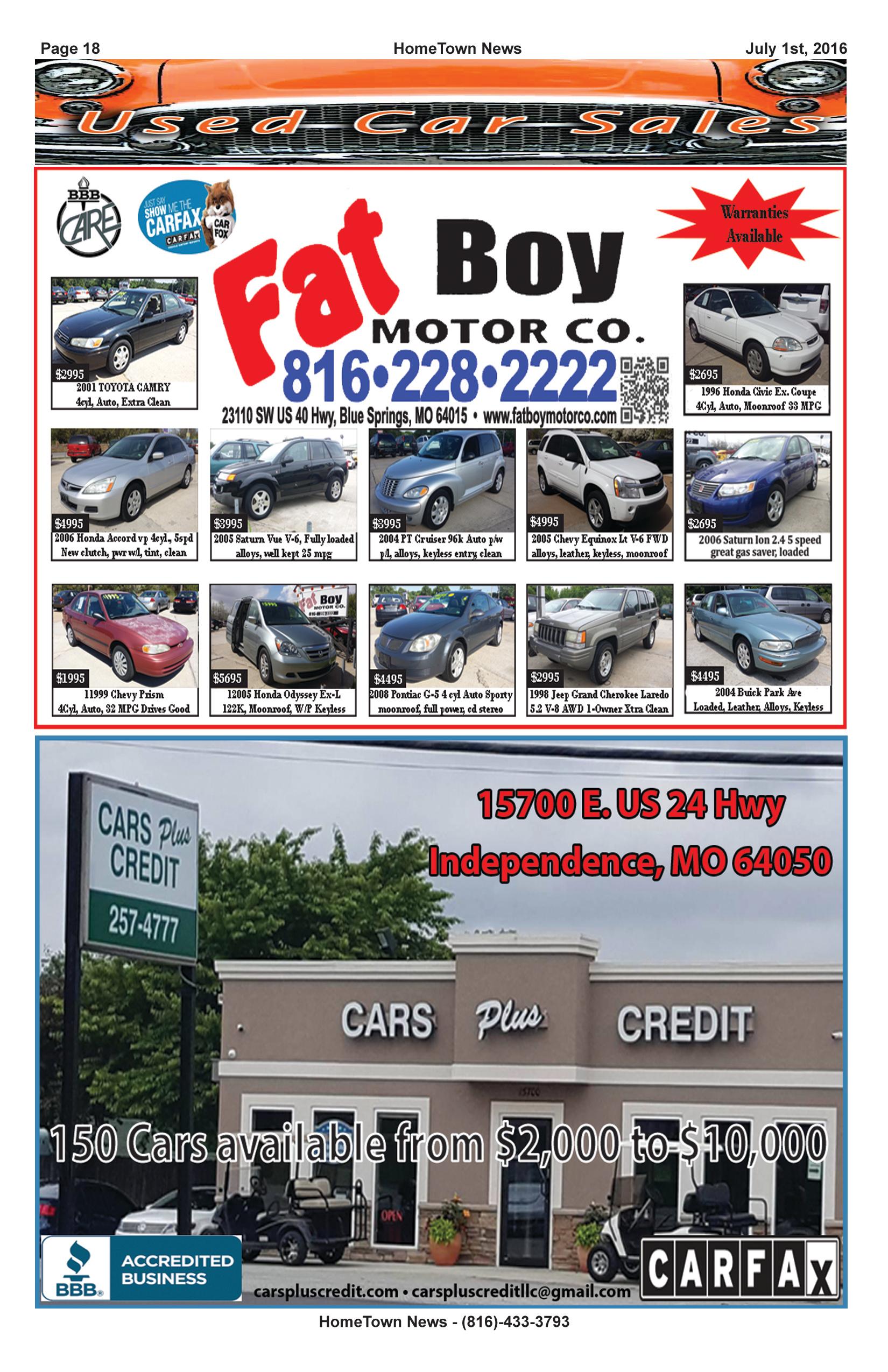 HTN12 - 18 - Auto Sales