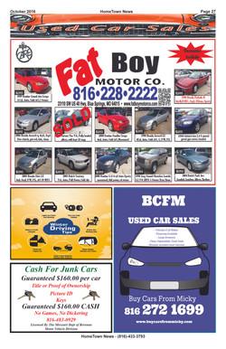 HTN15 - 27  Auto Sales