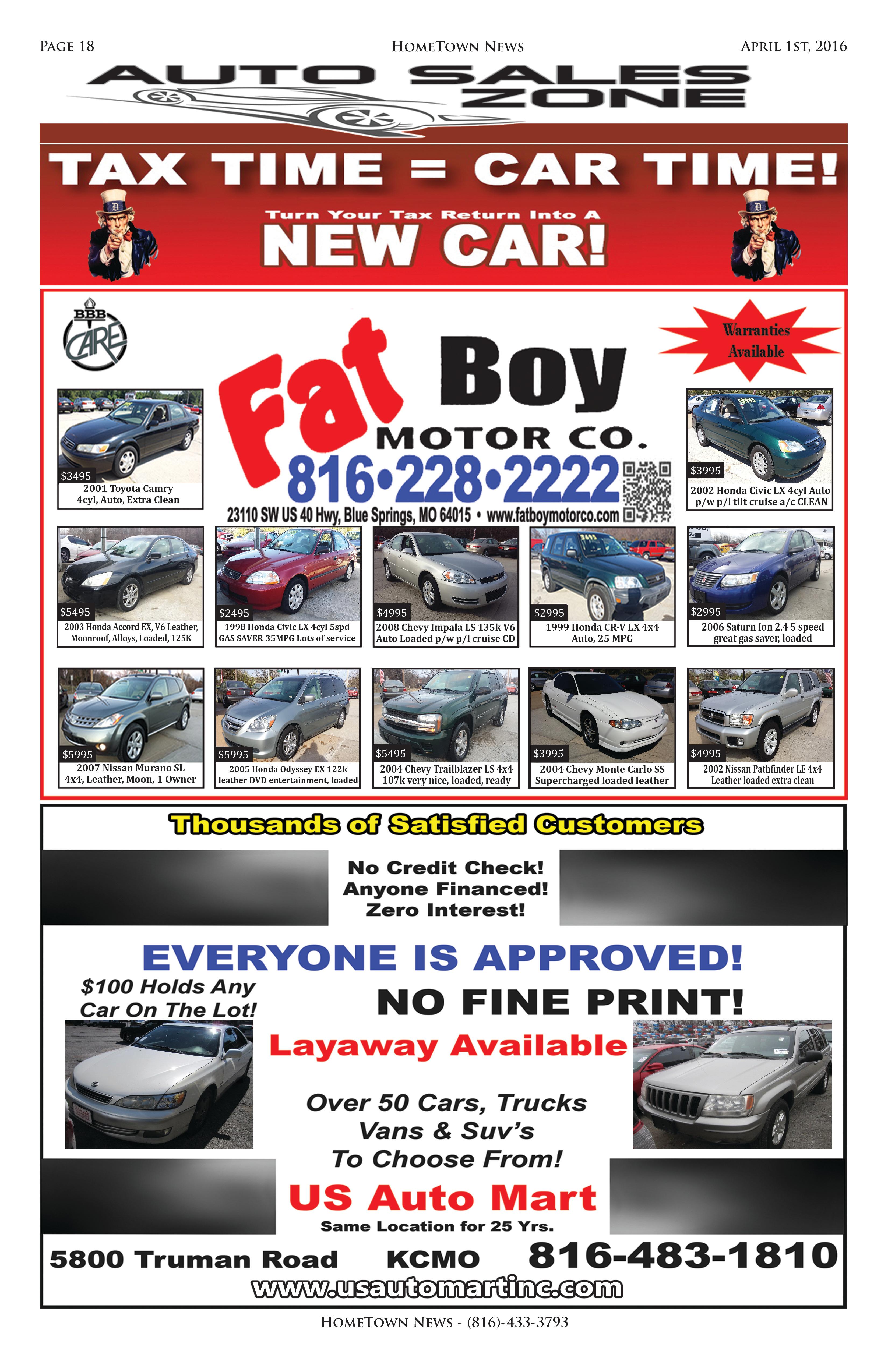 HTN9 - 18 - Auto Sales