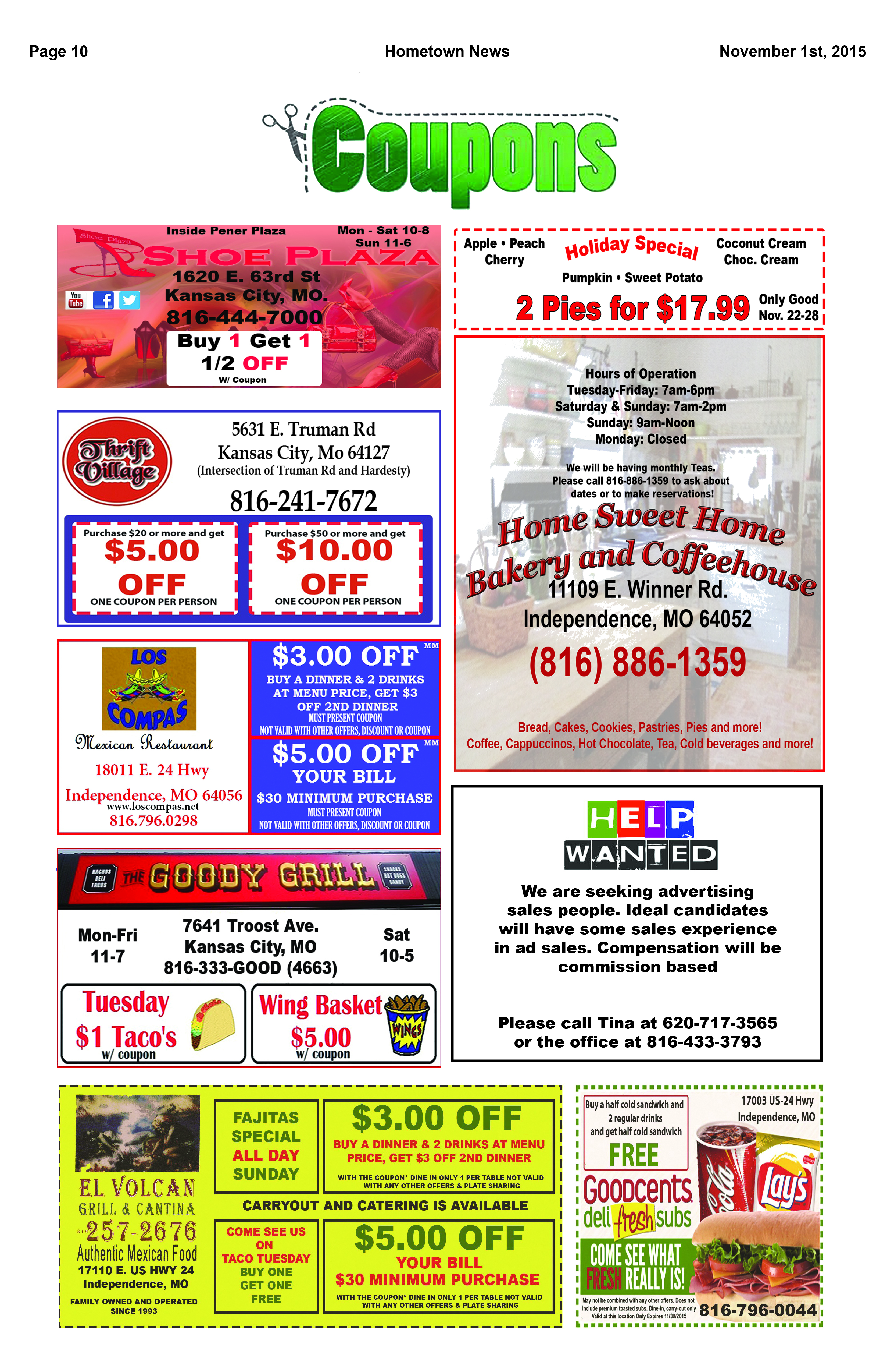 Page 10 Coupons