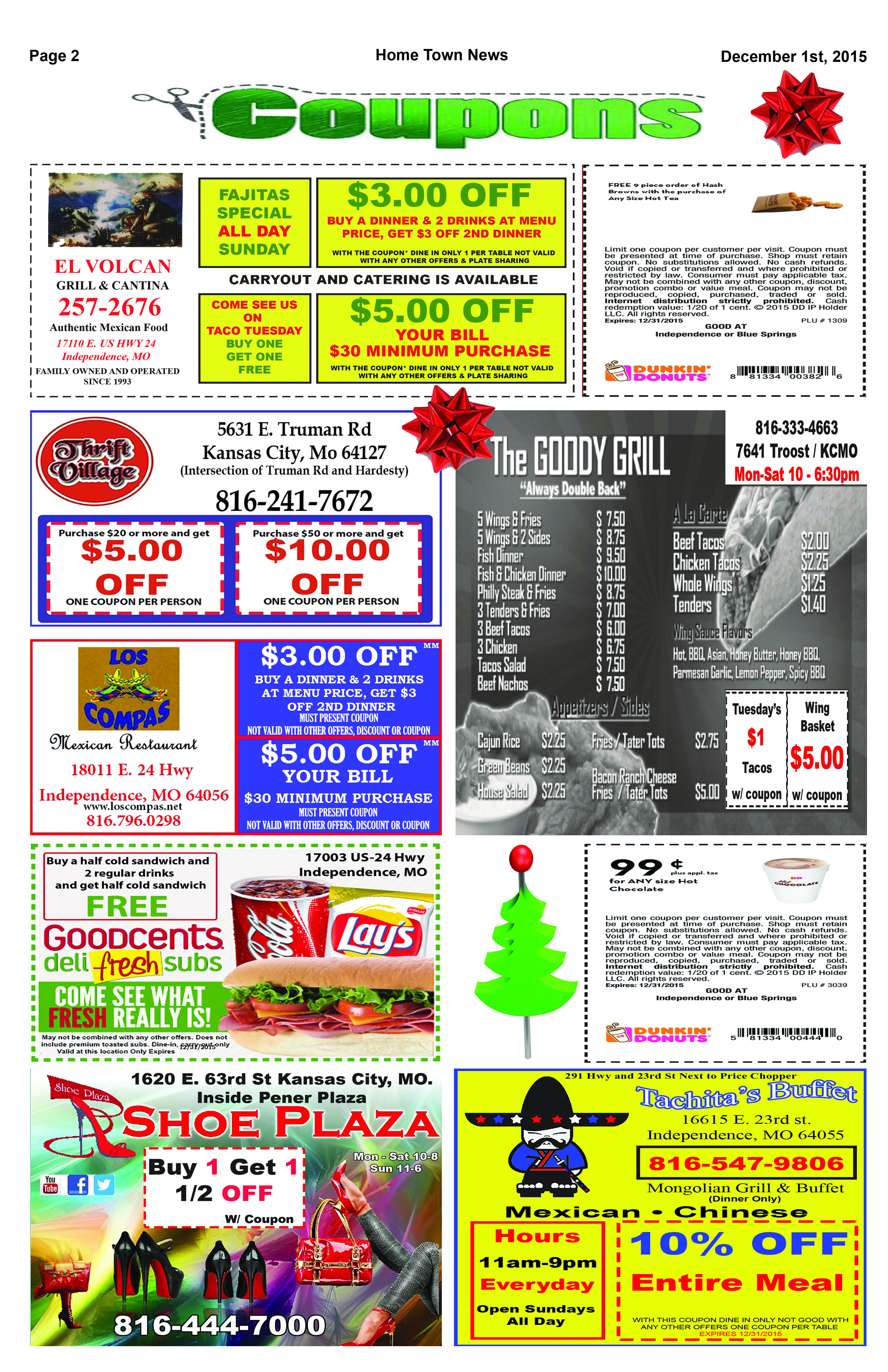 Page 2 Coupons