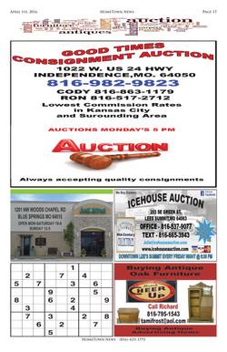 HTN9 - 17  Auction Antiques