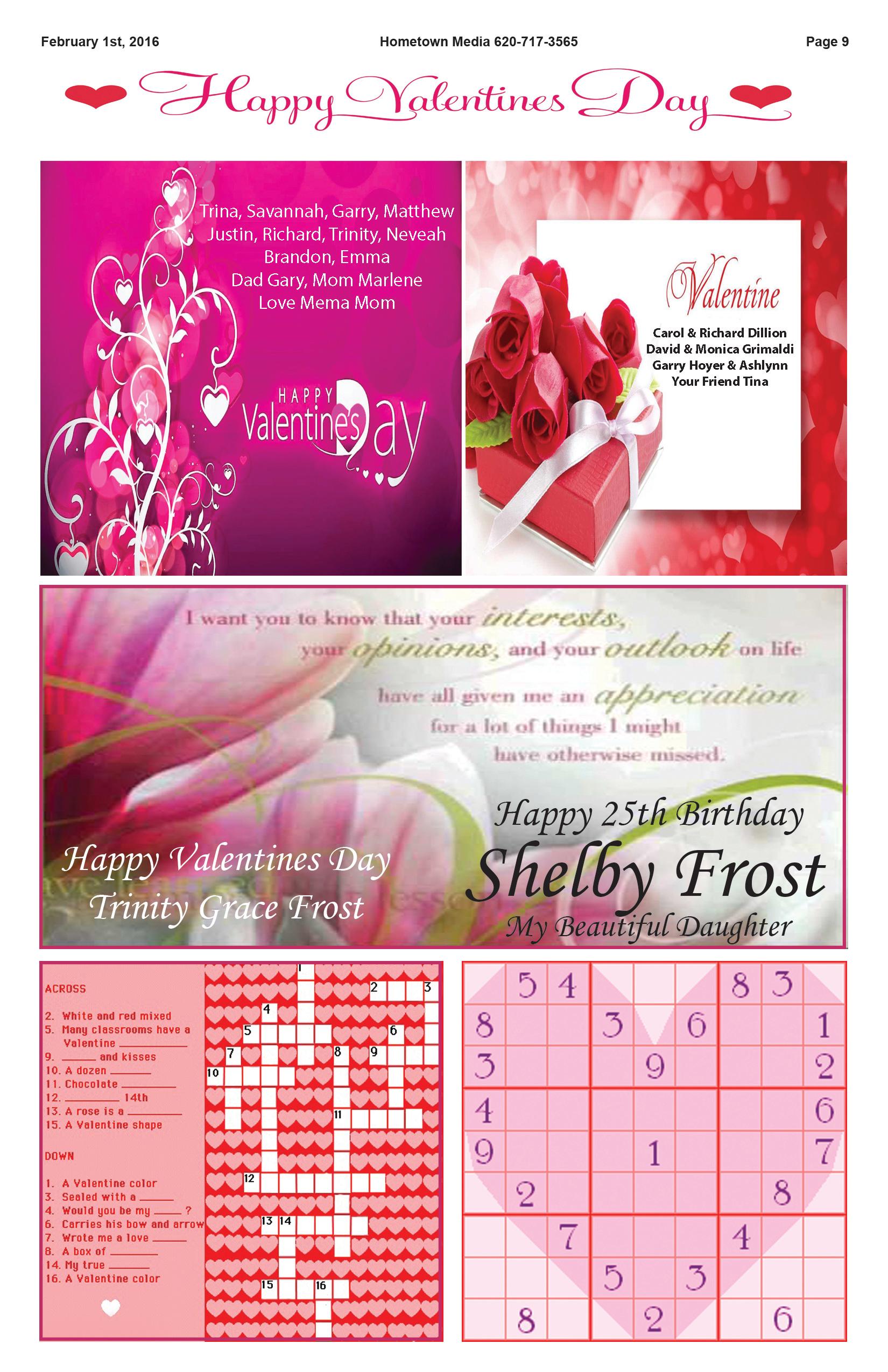 Page 9 Valentines