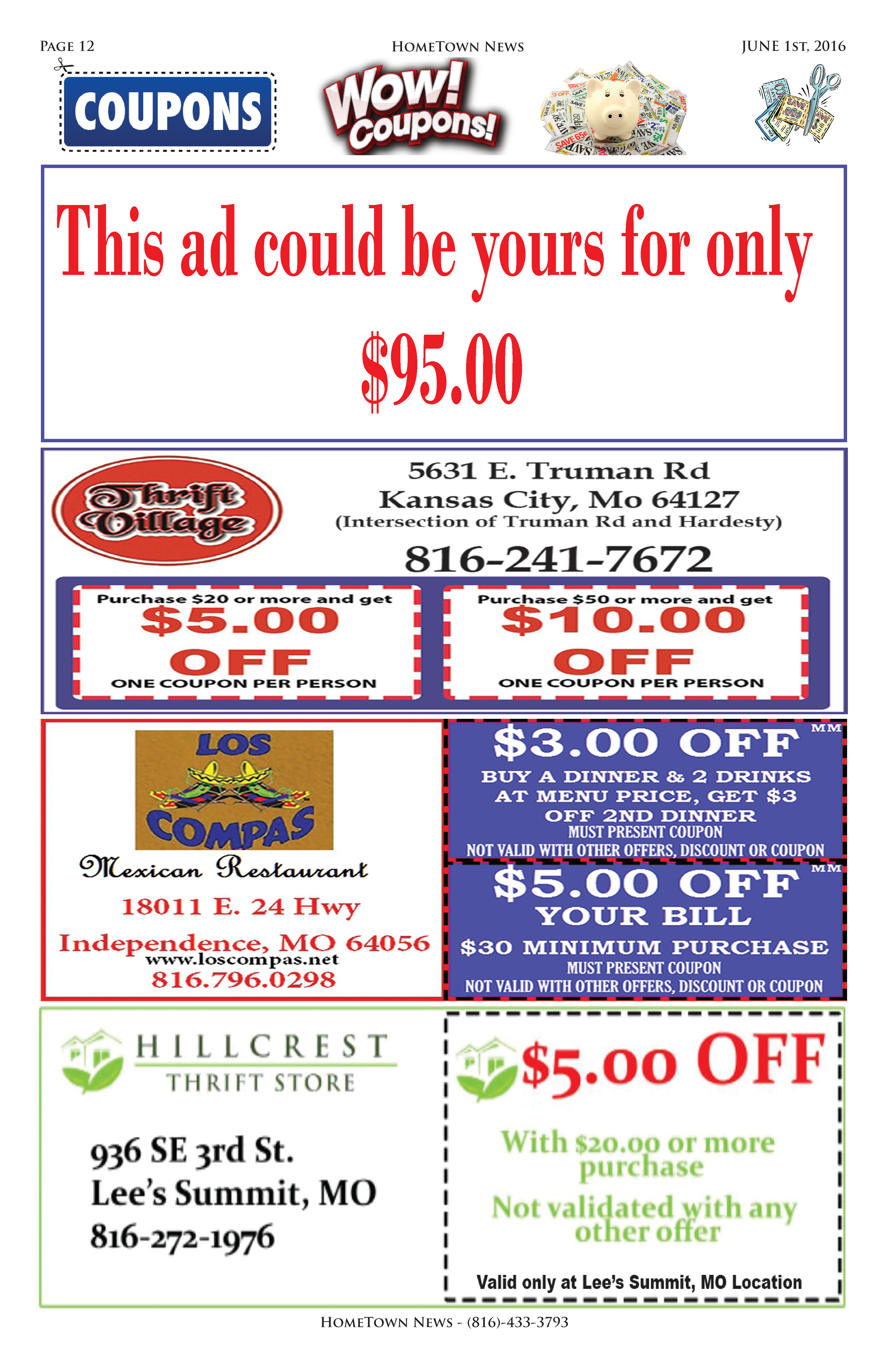 HTN11 - 12 - Coupons