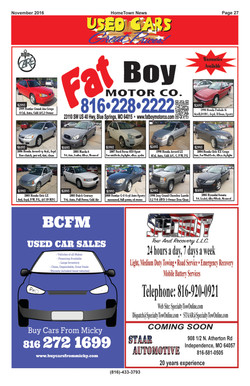 HTN16 - 27  Auto Sales